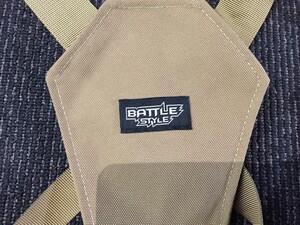 LayLax Battle Style ライトウェイト チェストリグ TANの写真5