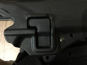 BLACKHAWK レッグホルスター Glock 20 LV.2 右用の写真3
