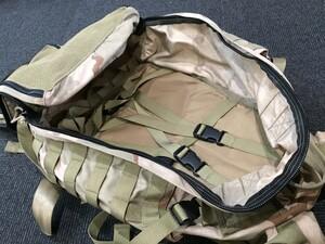 Eagle 実物 RAID backpack 3Cデザート 実物の写真7