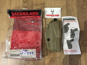 Safariland ホルスター 6379-219-551 FDE ALS M&Pの写真0