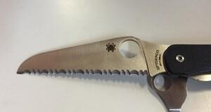 Spyderco 折りたたみナイフ クリピツールレスキューの写真1