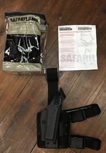 Safariland レッグホルスター GLOCK20/21 6004-383-121 マルイGLOCK17/22対応を買取りさせて頂きました。