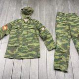 ロシア軍 BDU 上下セット フローラ フィールドキャップ付き 48-5を買取りさせて頂きました。