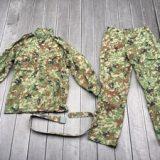 陸自迷彩2型 夏用作業服 ベルト付き サイズ表記3A ミリタリー コスプレを買取りさせて頂きました。