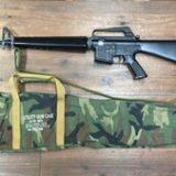 東京マルイ 電動ガン M16ベトナム 初期型再現加工品 パーツ欠品有り ウッドランドガンケースセットを買取りさせて頂きました。