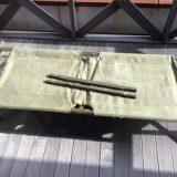 米軍 GIコット 木製 折り畳みベッド ミリタリー アンティークを買取りさせて頂きました。