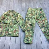 陸上自衛隊 E/C3型迷彩服上下セット サイズ4A ベルト付き ミリタリー サバゲーを買取りさせて頂きました。