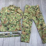 陸上自衛隊 迷彩服 3型 TC 5Aサイズ 上下セットベルト付きを買取りさせて頂きました。