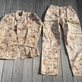 米海兵隊 PROPPER BDU 上下セット デザートマーパット S-Rを買取りさせて頂きました。