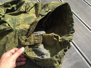 ロシア軍 BDU 上下セット デジタルフローラ ベレー帽セット カカールダ付きの写真7
