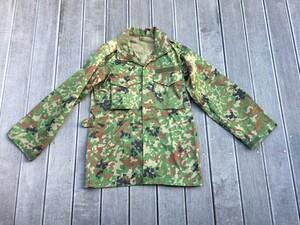 陸上自衛隊 E/C3型迷彩服上下セット サイズ4A ベルト付き ミリタリー サバゲーの写真1