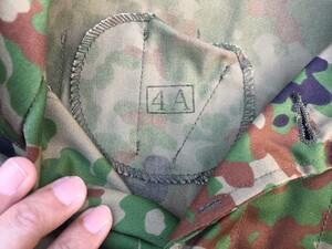 陸上自衛隊 E/C3型迷彩服上下セット サイズ4A ベルト付き ミリタリー サバゲーの写真3