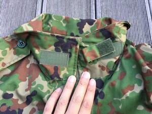 陸上自衛隊 E/C3型迷彩服上下セット サイズ4A ベルト付き ミリタリー サバゲーの写真4