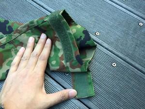 陸上自衛隊 E/C3型迷彩服上下セット サイズ4A ベルト付き ミリタリー サバゲーの写真5