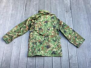 陸上自衛隊 E/C3型迷彩服上下セット サイズ4A ベルト付き ミリタリー サバゲーの写真6