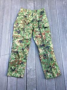 陸上自衛隊 E/C3型迷彩服上下セット サイズ4A ベルト付き ミリタリー サバゲーの写真7