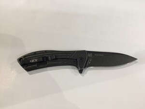 ZERO TOLERANCE ゼロトレランス 折りたたみナイフ ZT0801BW TITANIUMの写真1