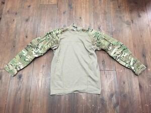 US MASSIF コンバットシャツ マルチカム M ミリタリーの写真0