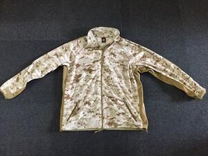 USMC フリースジャケット デザートマーパット MEDIUM REGULAR 放出品の写真0