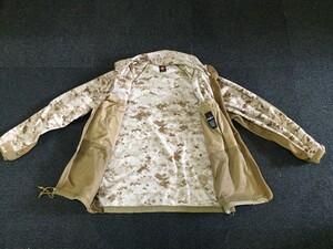 USMC フリースジャケット デザートマーパット MEDIUM REGULAR 放出品の写真3
