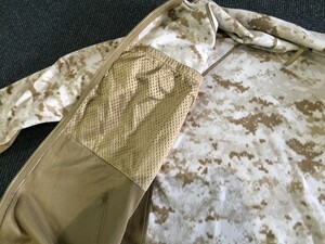 USMC フリースジャケット デザートマーパット MEDIUM REGULAR 放出品の写真6