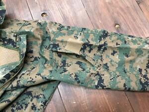 USMC プルオーバーシャツ FROG ウッドランドマーパット MEDIUM REGULARの写真4