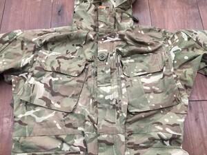 イギリス軍 MTP ウインドプルーフ コンバットジャケット パーカー マルチカムの写真2