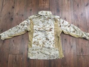 USMC コンバットジャケット デザート 迷彩 サイズM ミリタリーの写真1
