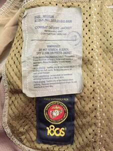 USMC コンバットジャケット デザート 迷彩 サイズM ミリタリーの写真3