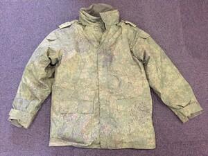 ロシア軍 ジャケット 防寒 ライナー付き デジタルフローラ迷彩 ミリタリーの写真0