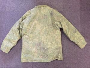 ロシア軍 ジャケット 防寒 ライナー付き デジタルフローラ迷彩 ミリタリーの写真1