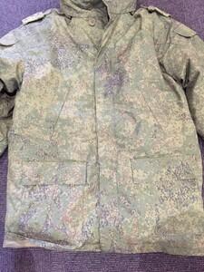 ロシア軍 ジャケット 防寒 ライナー付き デジタルフローラ迷彩 ミリタリーの写真2