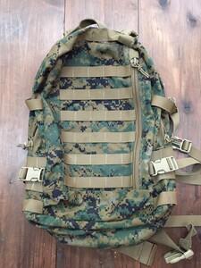 USMC アサルトパック マーパット 迷彩 放出品 ミリタリーの写真0