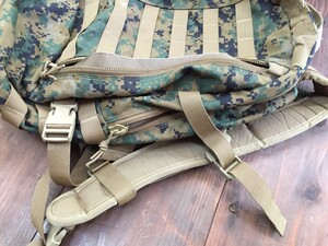USMC アサルトパック マーパット 迷彩 放出品 ミリタリーの写真6