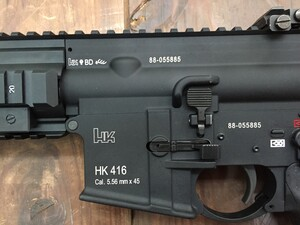 VFC Umarex HK416A5 GBBR カスタム品 ミリタリーの写真5