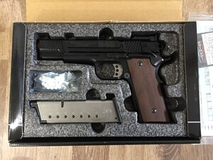 KSC S&W M945 カスタムキャリー スケイルド BKの写真1