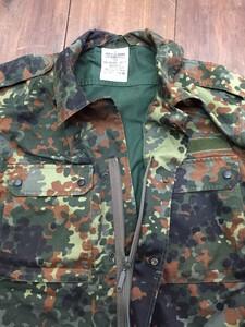 ドイツ軍 フレクター迷彩ジャケット ミリタリー ファッション 個人装備 放出品の写真2