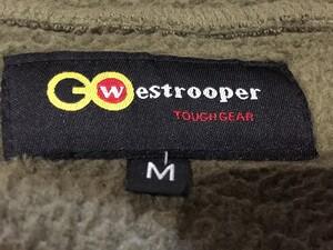 Westrooper製 フリースジャケット M アウター 冬物 アウトドアの写真4