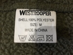 Westrooper製 フリースジャケット M アウター 冬物 アウトドアの写真6