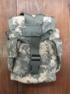 米軍 1QTキャンティーン MOLLEカバー ACU付き ミリタリー ODの写真5