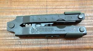 GERBER マルチプライヤー MP600 ブラントノーズ ブラック 07520G1Nの写真5