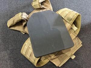 OneTigris プレートキャリアタイプベストPLPC ダミープレート&マグポーチ付き ブラウン sealsパッチ付きの写真9