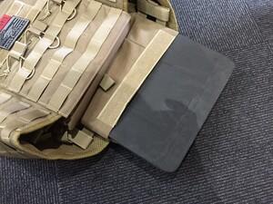 OneTigris プレートキャリアタイプベストPLPC ダミープレート&マグポーチ付き ブラウン sealsパッチ付きの写真8