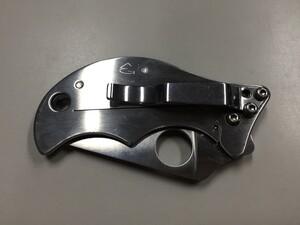 スパイダルコ 折り畳みナイフ スピン VG-10 C86P アウトドアの写真7