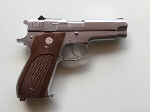 MGC モデルガン S&W M39 シルバー 発火式の写真3