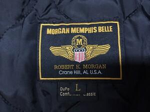 MORGAN MEMPHIS BELLE ジャケット 中綿 ナイロンの写真3