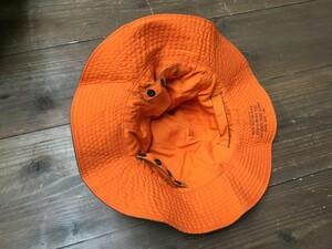 アメリカ軍放出品 サンハット リバーシブル オレンジ/オリーブ 実物 ミリタリーの写真6