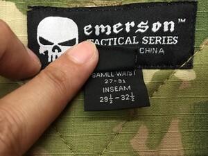 EMERSON G2 コンバットパンツ 30R マルチカム ミリタリーの写真4