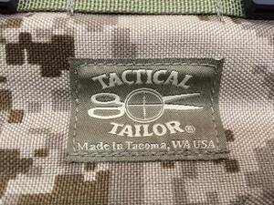 TACTICAL TAILOR MOLLE ハイドレーションカバー マリスクリップ4本付き ミリタリーの写真4