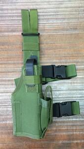 TACTICAL TAILOR レッグホルスター OD M1911、グロック、SIG P226R、ベレッタ92FS対応の写真0